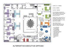 Planos de oficinas administrativas peque as arquitectura for Oficinas administrativas planos
