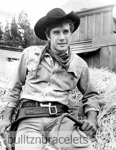 Robert Fuller of Laramie Tight Jeans and Holster 8x10 Photo | eBay