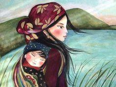 Tú eres en quien deben apoyarse en sus pasos, tú quien les ofrece el aliento de la madurez y la seguridad... No rompas el vinculo emocional con tus hijos.