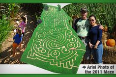 Atlanta: North Georgia Corn Maze, Hayride, or Haunted House -$7