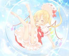 フランドール Dark Anime Girl, Girl Boards, Cute Anime Pics, Old Games, The Old Days, Magical Girl, Flan, Gods Love, Scarlet