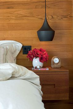 Assisted Living:  Wall-Mounted Bedside Tables  - www.casasugar.com