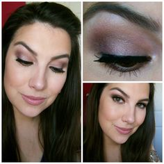 TUTORIAL :: FOTD feat. MAC shadows in Satin Taupe, Cork, Sketch, and Shroom. (Wet n Wild Nutty works for Satin Taupe, TheBalm Sexy from the Nude 'Tude palette works for Sketch, & similar shades fo Cork & Shroom can be found in the WnW Vanity palette!) :: CLICK for pix of the shadows used & instructions! | #beautybroadcast