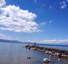Lac Leman, Suisse, Switzerland
