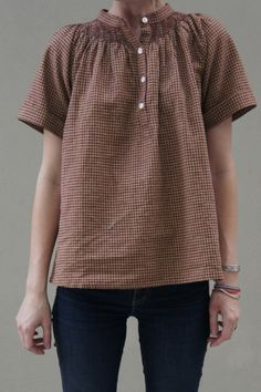 YMC Peasanto Top - Womens / Arrow & Arrow