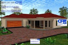 Round House Plans, Tuscan House Plans, House Plans With Photos, Family House Plans, Modern House Plans, Architect Design House, Architectural Design House Plans, Modern Architecture House, Bungalow House Plans