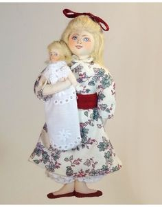 Clara with Doll - The Nutcracker Ballet Suite - Gladys Boalt - Christmas Ornaments - Collection and Gift