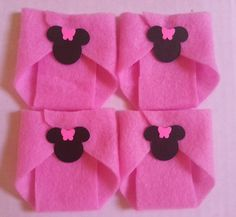 20 Minnie Mouse Dirty Diaper Game Baby Shower by CutePartySupplies, $10.00