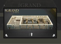 Did you know you are able to take a virtual tour of our event space? Check it out at www.thegrand1401.com