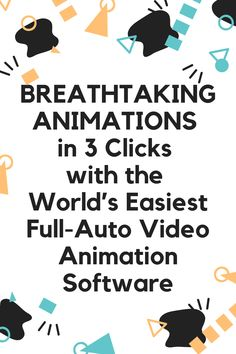 Breathtaking Animations In 3 Clicks With The World's Easiest Full-Auto Video Animation Software!  Studio-Grade Intros, Outros, CTAs, Logo Stings, Social Actions, And Pure Live Action Magic... All Done In The Cloud, So You Can Create From Anywhere.  #video #animation #software Affiliate Marketing, E-mail Marketing, Digital Marketing, Marketing Strategies, Marketing Training, Facebook Marketing, Content Marketing, Marketing Automation, Marketing Quotes