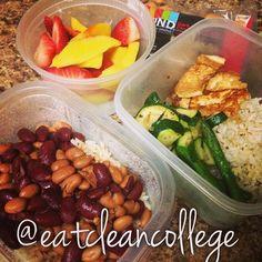 Clean eating, vegan lunchbox