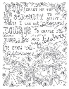 Inspirational Coloring Books for Adults Luxury Prayers to Color An Adult Coloring Book Full Of Prayers Quote Coloring Pages, Free Adult Coloring Pages, Colouring Pages, Printable Coloring Pages, Coloring Books, Free Coloring Sheets, Printable Art, Free Printables, Color Quotes