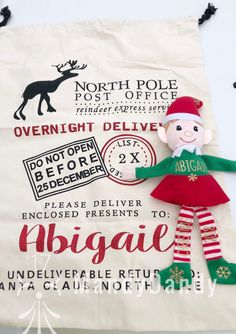 MAKO Christmas Santa Sacks Mail Delivery