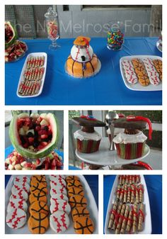 Sports Graduation Party   #party planning #sports #graduation