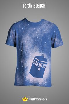 Bleached dr who T by geek charming: I would make this and wear this...seriously!