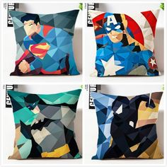 Cheap pillowcases wholesale, Buy Quality pillow case directly from China throw pillow cases Suppliers: Spiderman pillow cover, creative Captain America batman superman superhero throw pillow case pillowcase wholesale Linen Pillows, Couch Pillows, Throw Pillows, Black Spiderman, Batman And Superman, Cushion Covers, Pillow Covers, Batman Pillow, Twinkle Star