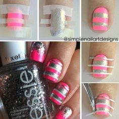 I don't want to spend so much time on my manicure, but I want to have a new nail art as well. Then I choose a very simple nail art, stripe nail art, as my new manicure for the week. This nail design can not only save my time, but also pair many occasions and …