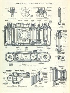 construction of the leica camera [the engineer, – Bau der Leica-Kamera [der Ingenieur, – Dslr Photography Tips, History Of Photography, Film Photography, Pregnancy Photography, Photography Equipment, Landscape Photography, Fashion Photography, Wedding Photography, Camera Photos