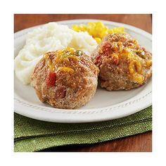 Mini Tex-Mex Turkey Meat Loaves: Ground turkey combined with flavorful ...
