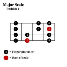 An overview of the major scale for the bass, one of the most important bass scales. Learn how to play a major scale on a bass. Look at the fingering patterns for a major scale. Bass Guitar Scales, Bass Guitar Notes, Bass Guitar Chords, Bass Guitar Lessons, Guitar Tips, Yamaha Bass Guitar, Bass Guitars For Sale, Guitar Fingers, Guitar Classes