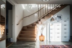 Eckragatan 33E, Långedrag, Göteborg — Bjurfors Swedish House, House Ideas, Villa, Stairs, Home Decor, Stairway, Decoration Home, Room Decor, Swedish Home