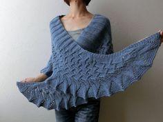 Ravelry: oshiruko's Lin-Lin Shawl (pattern Lin- Lin shawl by Yoko Johnston