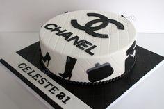 Celebrate with Cake!: Chanel Themed cake Cake