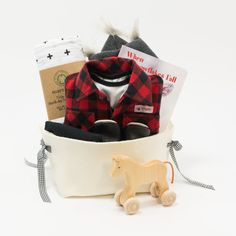 Cool Baby Boy Gift Basket - Little Lumberjack – Bonjour Baby Baskets - Luxury Baby Gifts