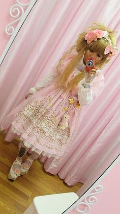 Claudia De La Rosa: http://lb.nu/mochichancuite  Items in this look:  Btssb Icing Dancing Cake, Bodyline Rocking Shoes, Offbrand Kitty Tights, Angelic Pretty White Blouse, Offbrand Pink Chiffon Peignoir, Flower Clip, Angelic Pretty White Headband #himelolita #himeloli #hime #lolita #lolitafashion #lolitasubstyle #lolitasubculture #angelicpretty #peignoir #whiteblouse