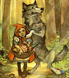 Wolves are portrayed as bad and scary animals from childhood ingraining a negative view of the wolf.