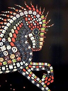 Sushi art - how cool is this?