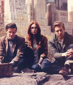 beautiful #matt #smith #karen #gillan #arthur #darvill