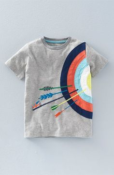 Mini Boden 'Sports Appliqué' Cotton Jersey T-Shirt (Toddler Boys, Little Boys & Big Boys) available at #Nordstrom