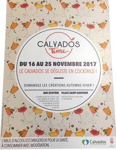 Calvados Time Novembre 2018 Caen Découvrir ce spiritueux autrement Créations originales