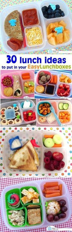 30 packed lunch ideas to put in your /easylunchboxes/