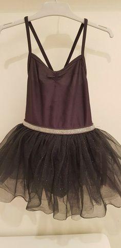 "NWT Wolff Fording Dance Costume Graduated tutu 14/"" top skirt Classic Black hem"