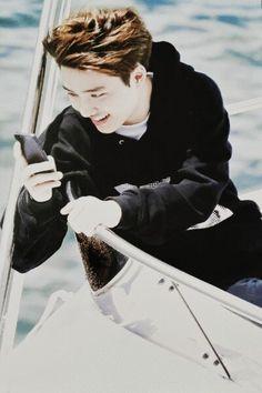 Love his smile ^^ #kyungsoo #exo