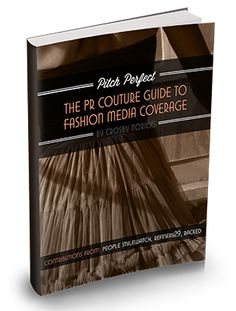 Next book is ready for you! Secrets to Fashion Media Coverage #pr