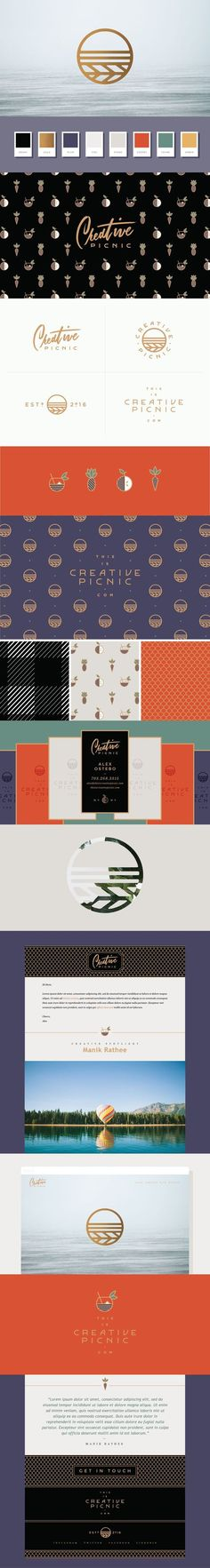 Creative Picnic Branding by Melissa Yeager | Fivestar Branding Agency – Design and Branding Agency & Curated Inspiration Gallery
