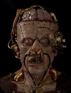 Steampunk Frankenstein & Ancient Medusa by Anthony Pepe - Millennium FX