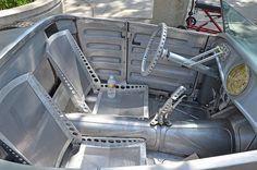 hot rod and rat rod interiors Custom Car Interior, Truck Interior, Pick Up, Bomber Seats, Sheet Metal Work, Sheet Metal Fabrication, Metal Shaping, Big Trucks, Custom Cars