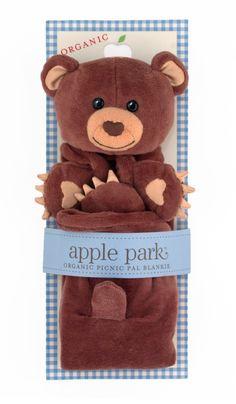 Apple Park Organic Cotton Blankie – Cubby