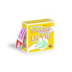 Distributeur de stickers pour dire que la vie est belle <3