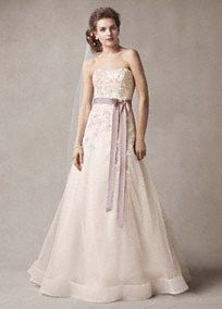Wedding dresses on pinterest davids bridal trumpet gown for Wedding dress skirt only