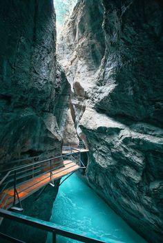 Canyon Walk, Aare Gorge; Switzerland