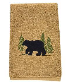 Avanti Black Bear Lodge Bath Rug Products Pinterest Rugs And