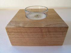 Votive Candle Holder Wood Candle Holder by DivineRusticCreation, $10.00
