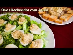 Ovos Recheados com Atum | SaborIntenso.com
