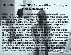 The Struggles INFJ Faces When Ending a Bad Relationship