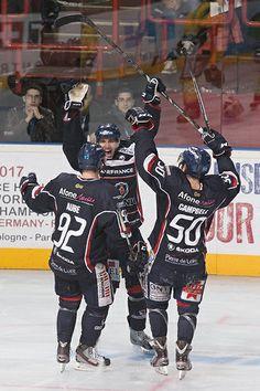 La joie des joueurs, qui font un grand pas vers la victoire... (Photo: Thierry Bonnet/Ville d'Angers)